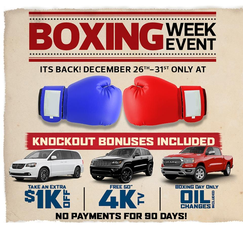Boxing Week Event