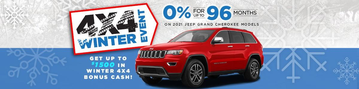 Jeep Discount Offers at Northland Chrysler Dodge Jeep Ram in Prince George